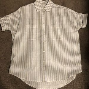 Madewell striped courier shirt